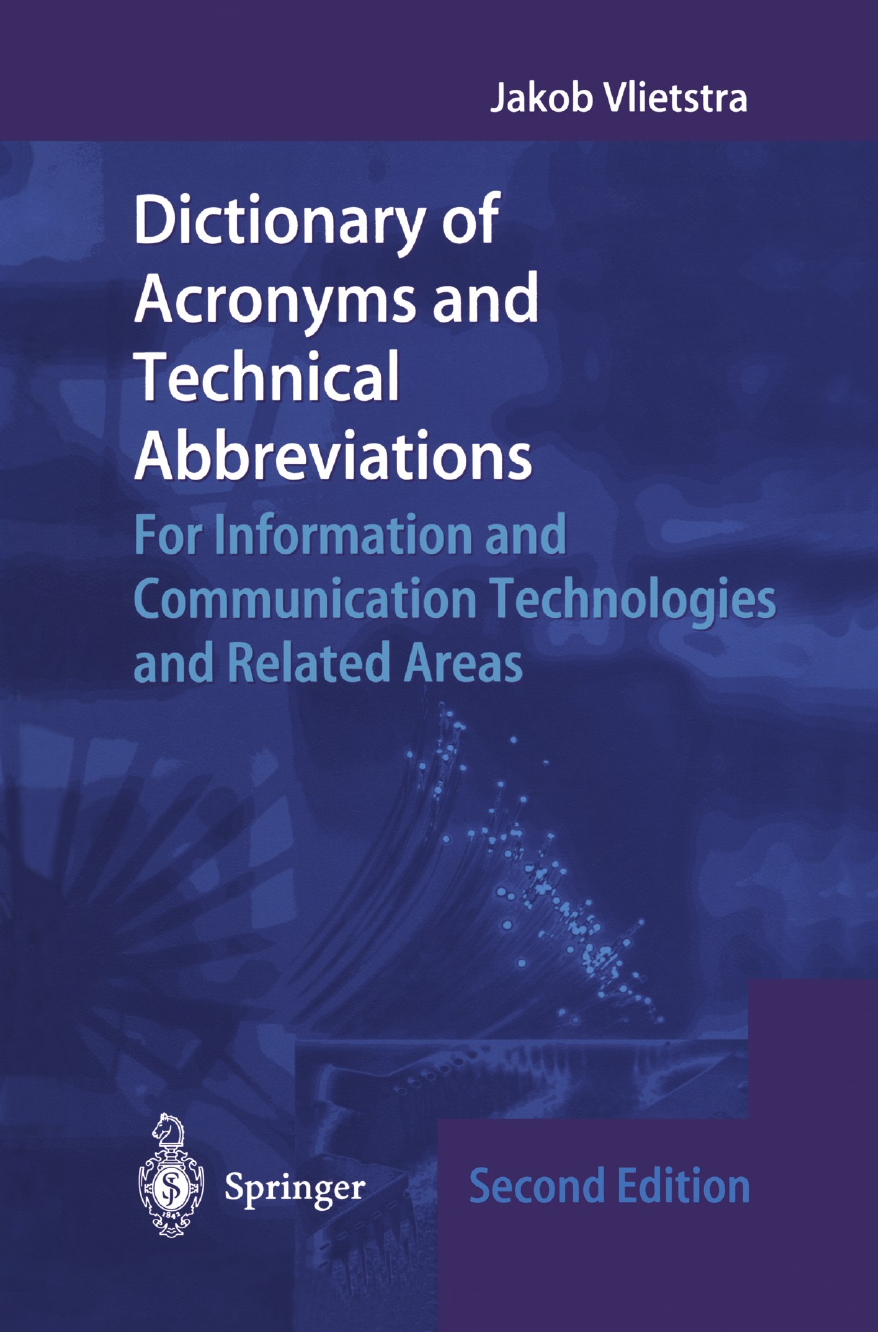 Dictionary of Acronyms and Technical Abbreviations ||