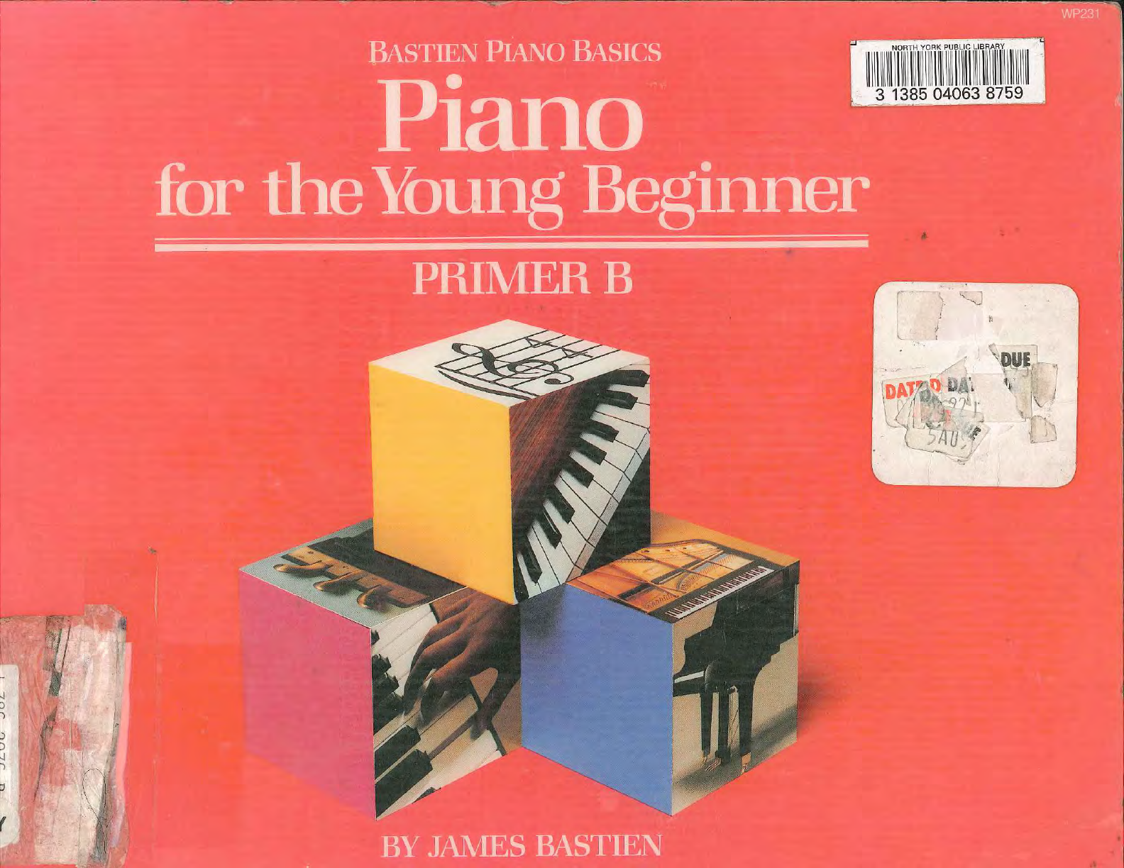 Piano For The Young Beginner Primer B WP231