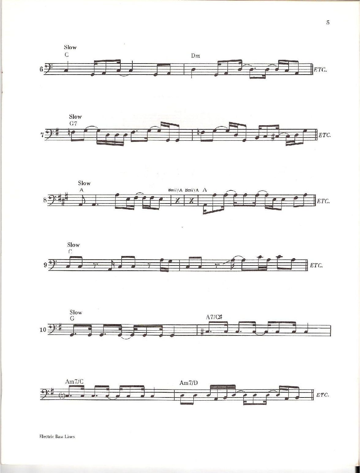 Carol Kaye - Electric Bass Lines No 1 PDF