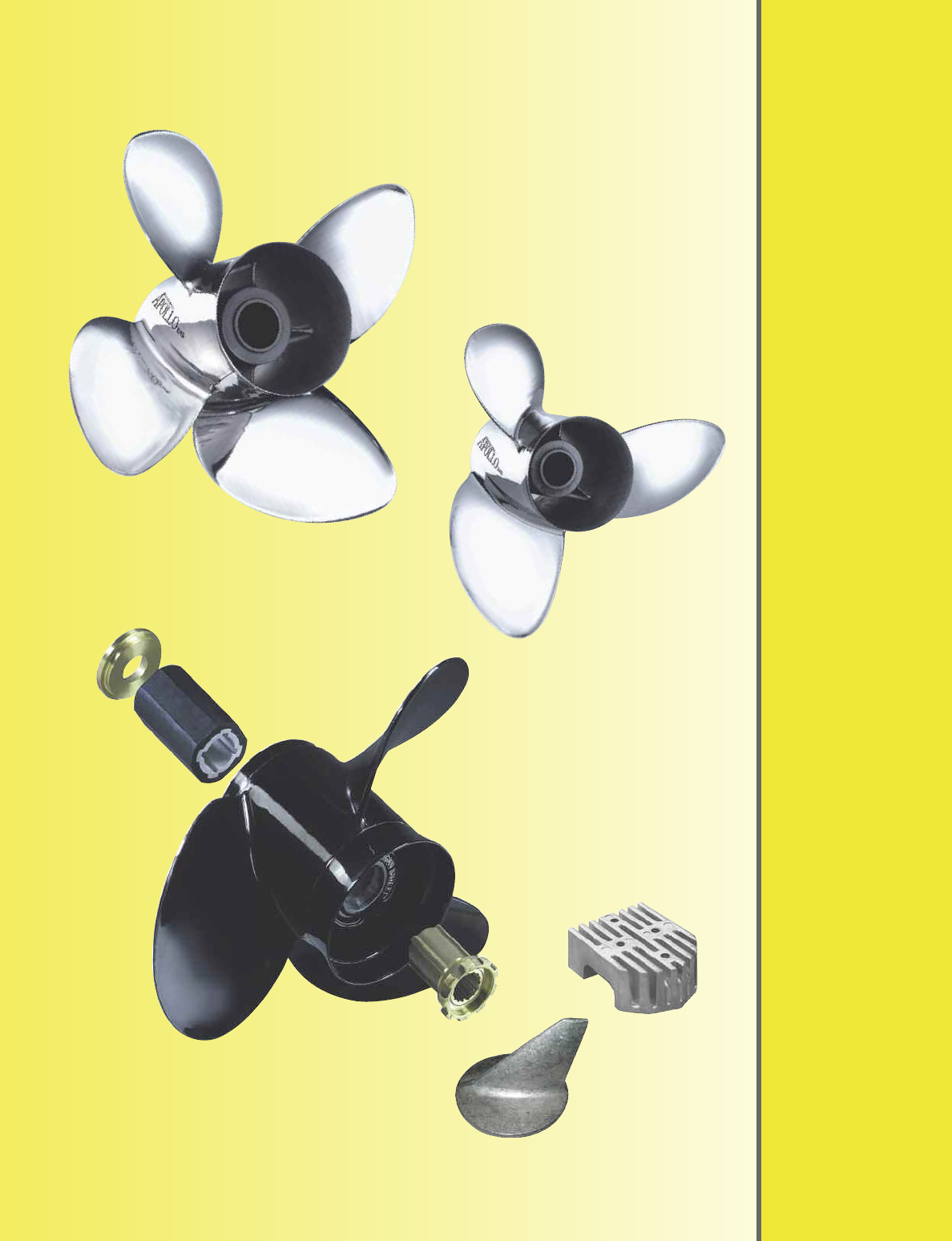 13 3//4X21 Pitch Aluminum Outboard Propeller For Yamaha 6G5-45943-01-98 150-250HP