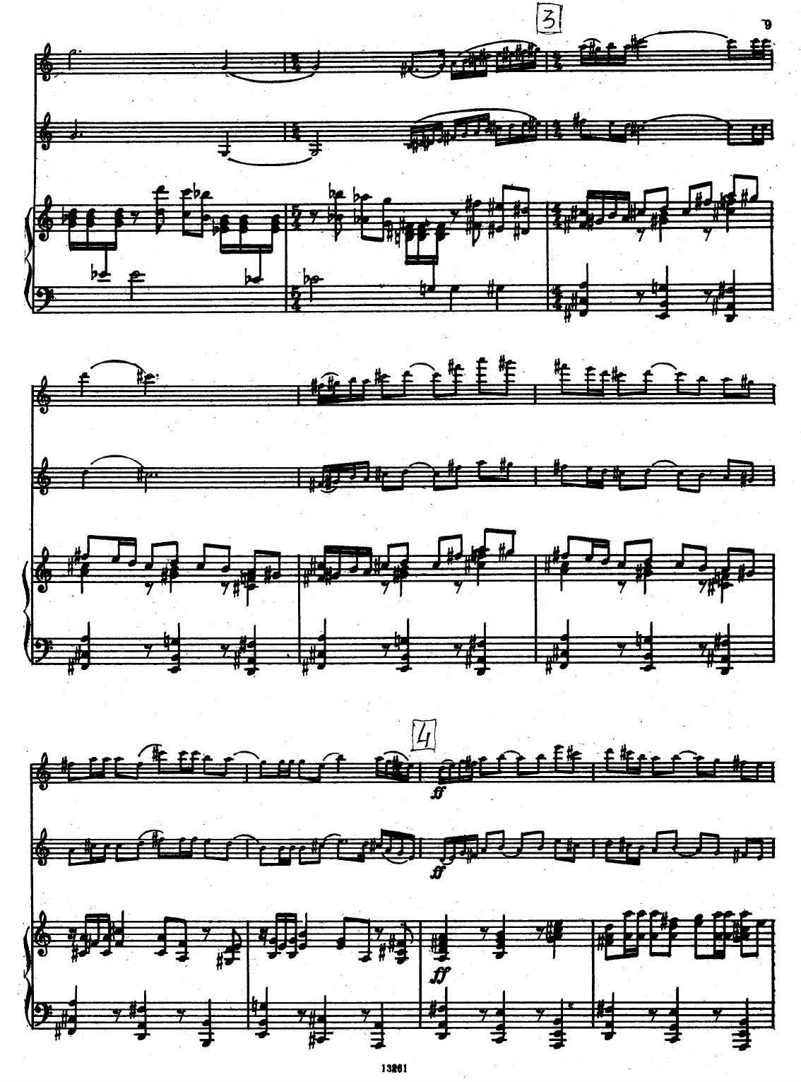Milhaud - Suite for Violin, Clarinet and Piano