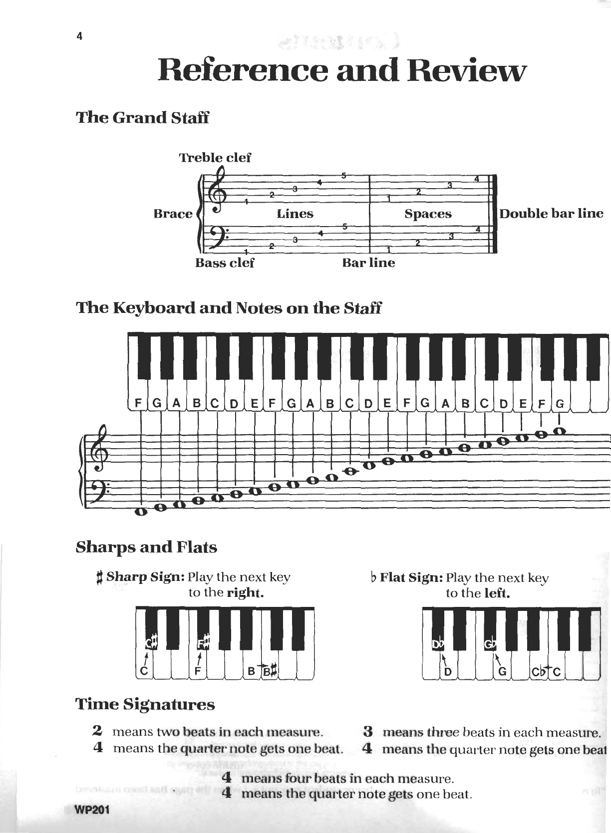 Bastien Piano Basics Theory Level 1