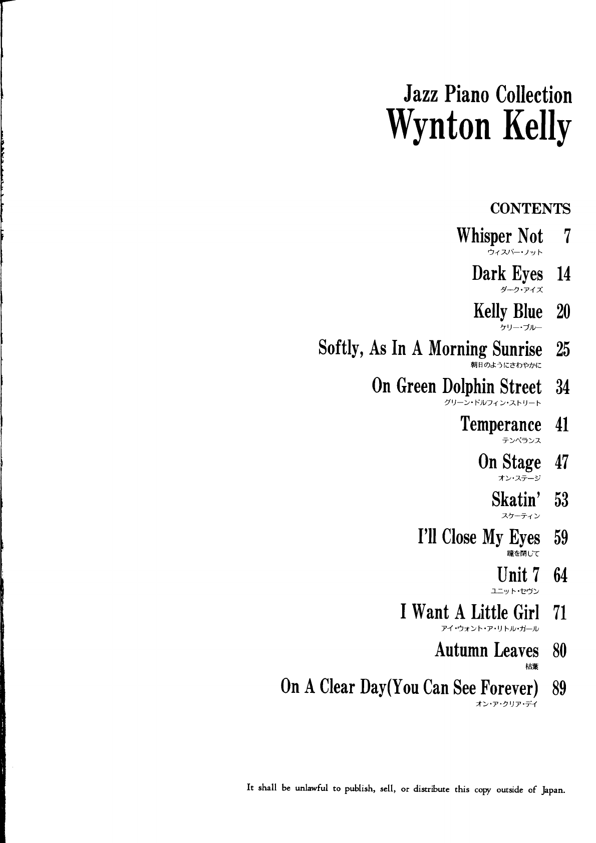 Autumn Leaves Wynton Kelly Jazz Piano Collection 92 pdf