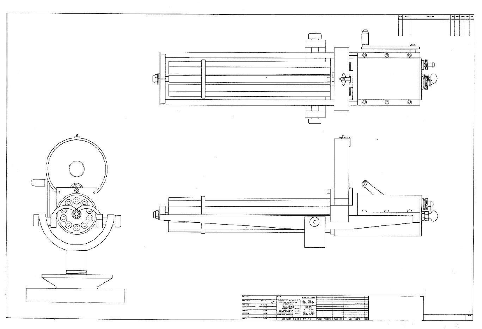 Gatling Gun Blueprints pdf