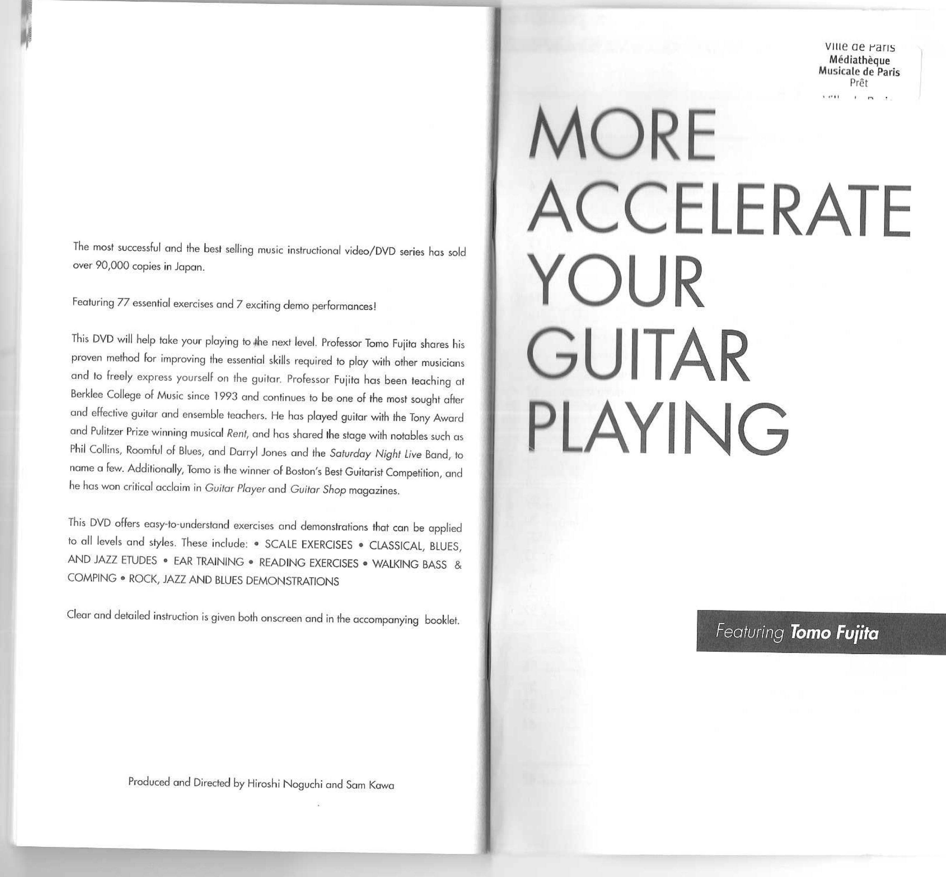 Tomo Fujita - More Accelerate Your Guitar Playing - 2007 pdf