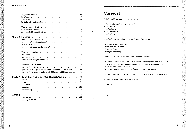 Horen start deutsch 1 test ÖSD Zertifikat