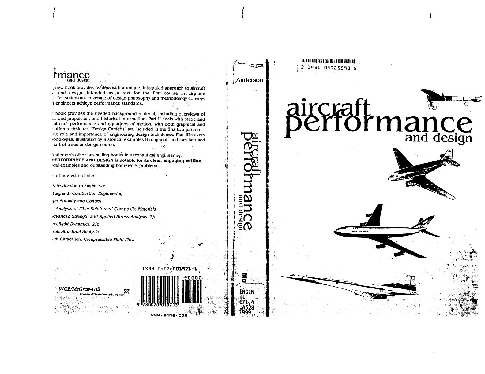 Aircraft Performance And Design Anderson Pdf Pdf Document
