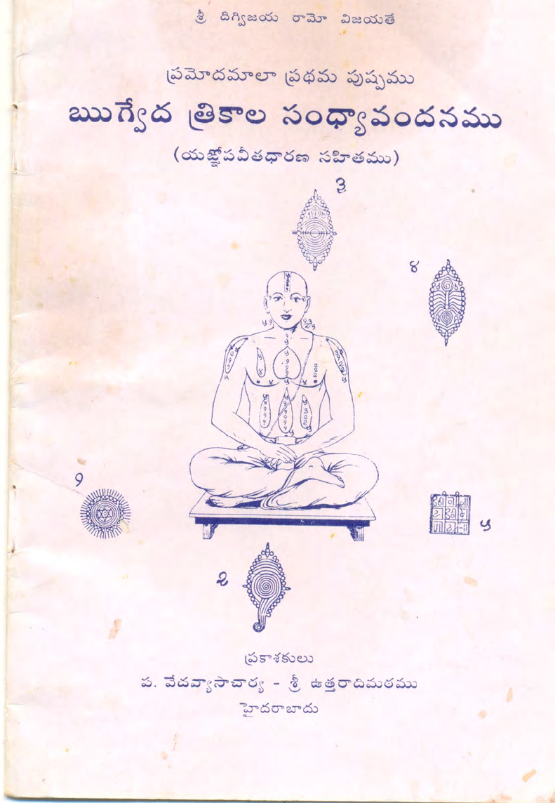 Sandhyavandanam Procedure In Ebook