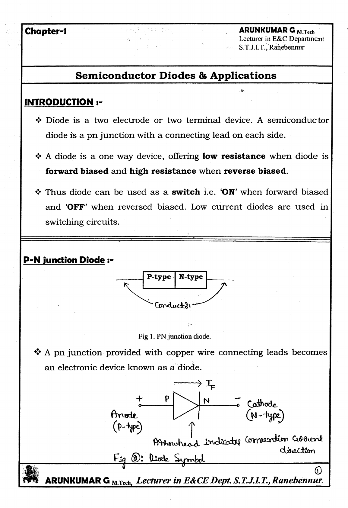 Analog Communication Notes By Arun Download