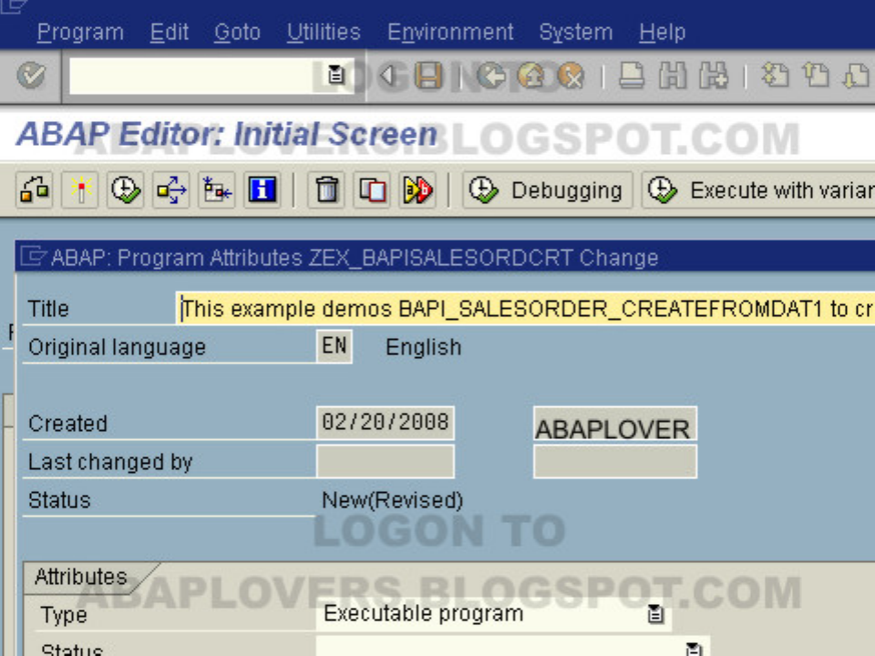Step by Step Tutorials in Bapi-SAP ABAP - [PDF Document]