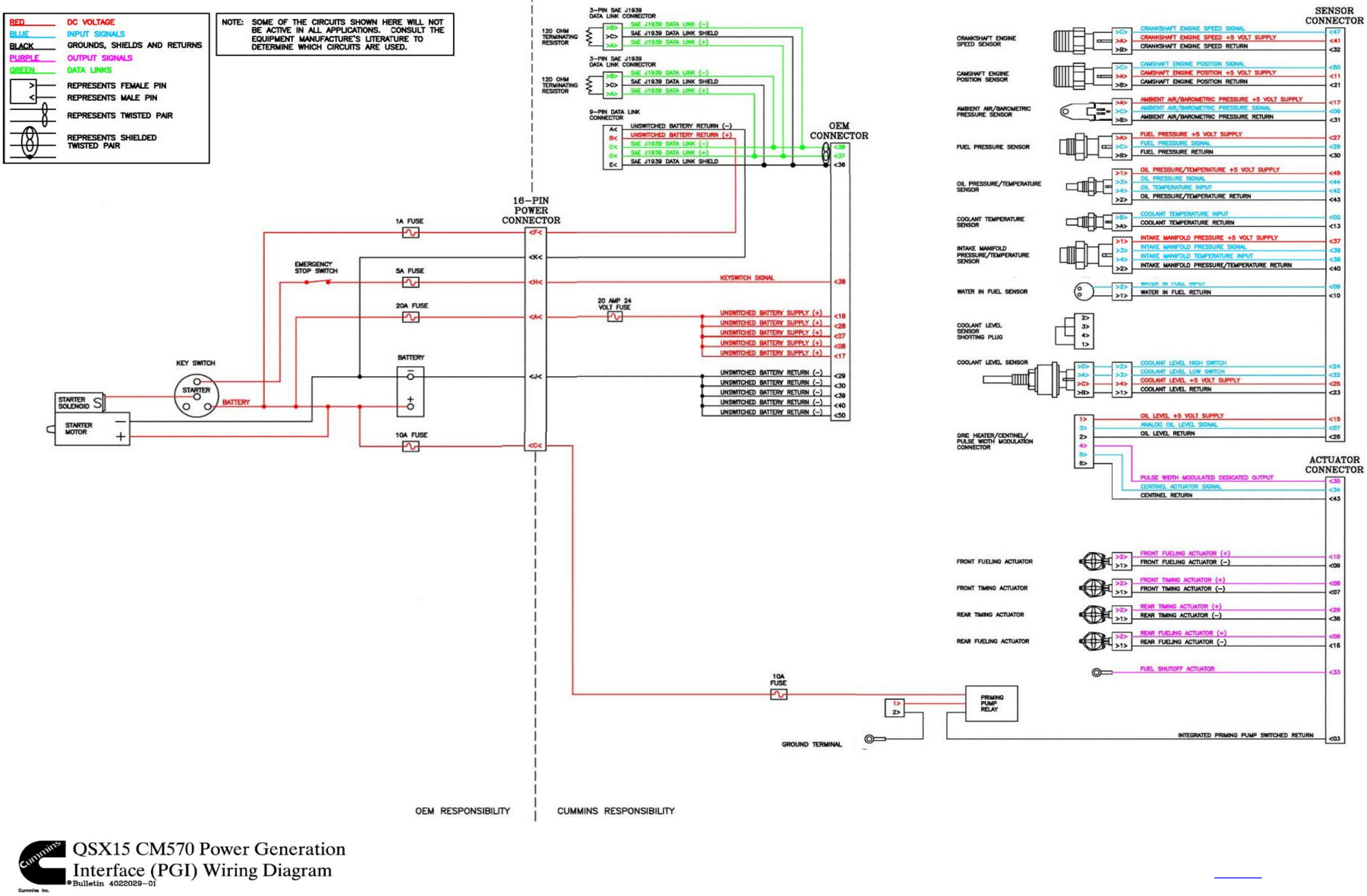 Cummins Isx Ecm Wiring Diagram