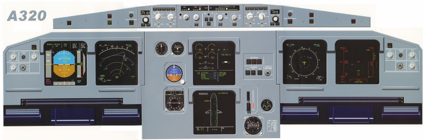 Airbus A320 Instrument Panel